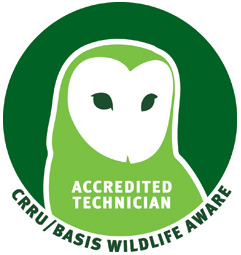 CRRY wildlife aware accredited technician
