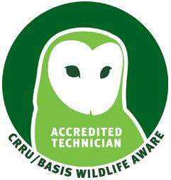 CRRY wildlife aware accredited technician